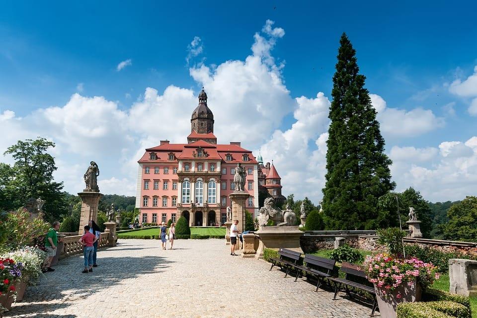 Wrocław i Zamek Książ